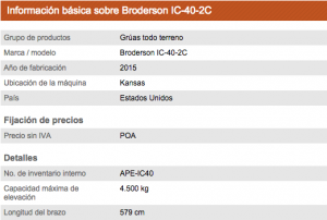Brodeson IC-40-2C